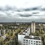 Nature beginning to reclaim Pripyat