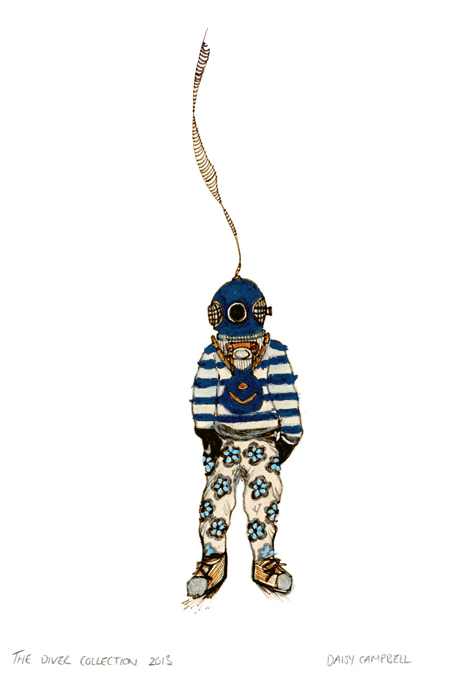The-Diver-Collection-Daisy-Campbell-Illustrator