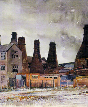 the-gordon-pottery-tunstall-a-watercolour-by-staffordshire-artist-reginald-haggar